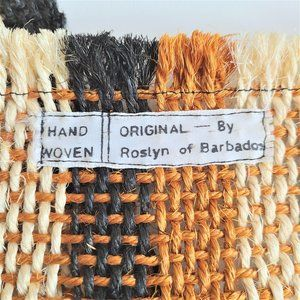 Handwoven Original by Roslyn of Barbados placemats